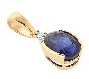 Anhänger Kyanit Diamanten