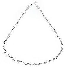 SANDRA SINGH ca. 48cm ca. 0,4cm Phantasie-Kette Silber 925