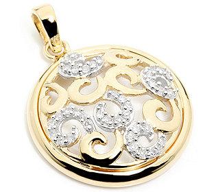 Anhänger 38 Diamanten