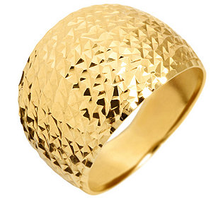 Ring Silber vergoldet