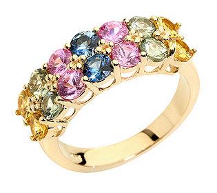 Ring 14 Saphire