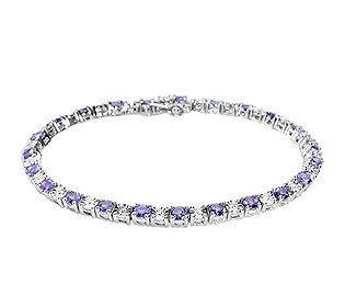 Armband Lavendel-Tansanit