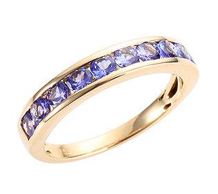 Memoire-Ring 10 Tansanite