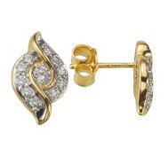 ARGYLE Ohrstecker 22 Brillanten zus. ca. 0,33ct Gold 585