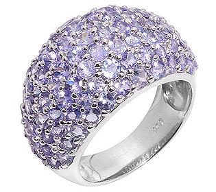 Ring Lavendel-Tansanit