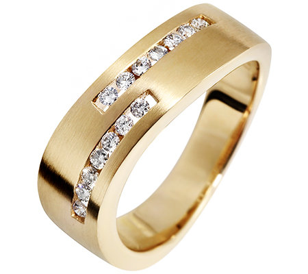 CARA D'OR 14 Brillanten zus.ca.0,21ct. Ring Gold 585