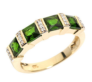 Ring 4 Chromdiopside