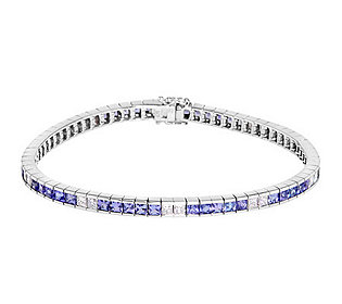 Armband Tansanit Diamant