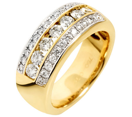 CARA D'OR 33 Brillanten zus.ca.1,00ct. Cocktail-Ring Gold 750