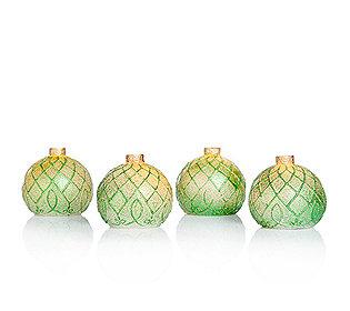 4 Christbaumkugeln