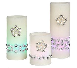 Glamour Flammenlose Kerze