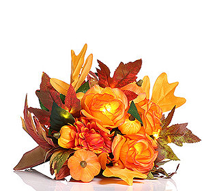 Herbststrauß leuchtend