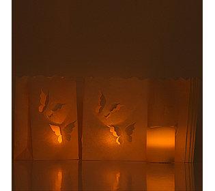 3 Kerzen flammenlos