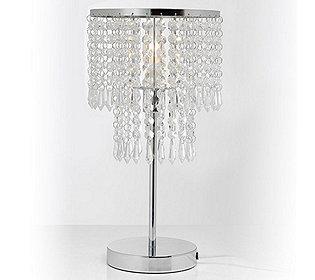 Glas-Tischlampe LED