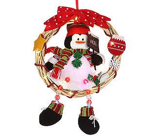 Weihnachtsfigur leuchtend