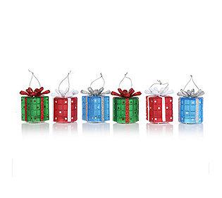 6 Geschenke leuchtend