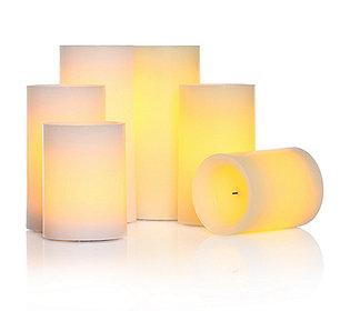 6 Kerzen flammenlos