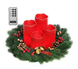 flammenlose Kerzen Advent
