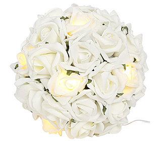 Rosenkugel leuchtend