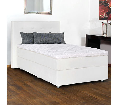 BODYFLEX BOXSPRING Boxspringbett Seattle Dream Taschenfederunterbau 120x210 / 140x210cm