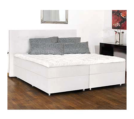 BODYFLEX BOXSPRING Boxspringbett Seattle Dream Taschenfederunterbau 180x210 / 200x210cm