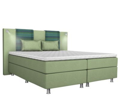 BODYFLEX BOXSPRING Bett Modell Miami inkl. Leselampen Serie Classic