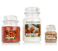 YANKEE CANDLE Duftkerzen-Set Food Treats 3 Größen 104-623g, 3tlg.