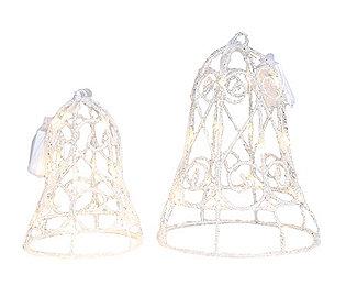 2 Eiskristallglocken LEDs