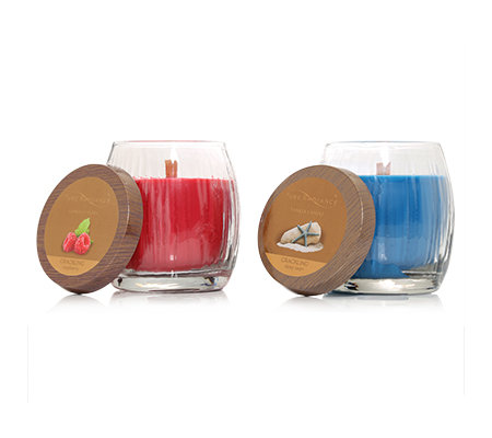 YANKEE CANDLE Pure Radiance Knisterdocht Brenndauer 45-60h je 283g, 2-tlg.