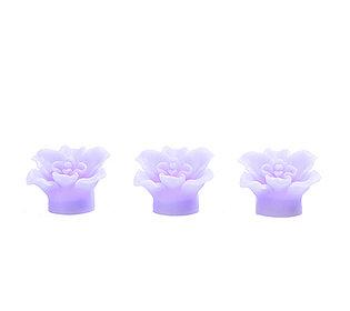 3 Orchideen-Kerzen