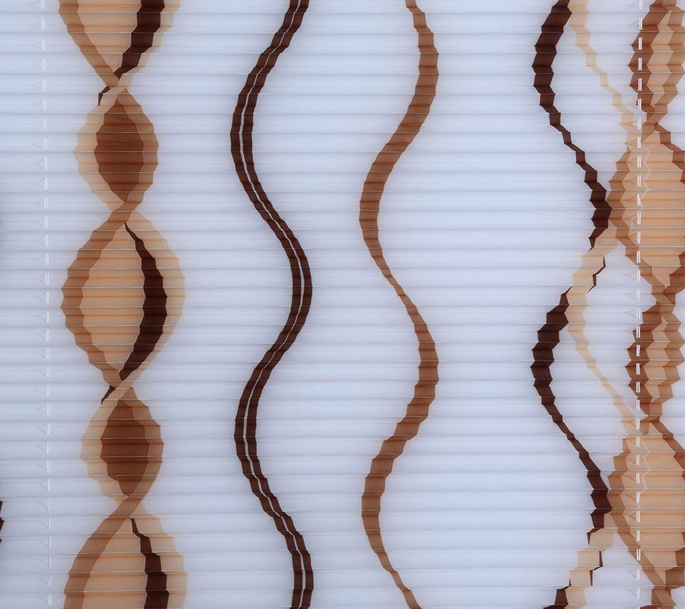 plissee sichtschutz wellen-design schnurlos inkl. klemmträger, Badezimmer ideen