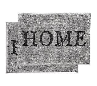 """2 Fußmatten """"Home"""""""