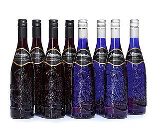 8 Flaschen Rot-&Weißwein