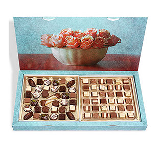Pralinen-Geschenkbox
