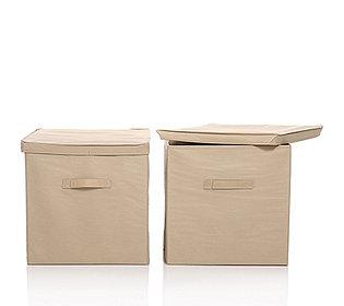 2 Aufbewahrungsboxen