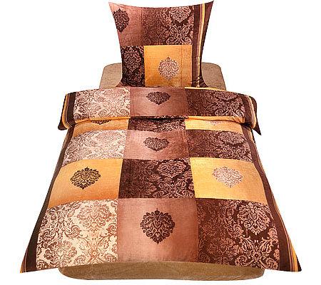 nickymood mikrofaser nicky bettw sche ornamentkaro einzelbett 3tlg. Black Bedroom Furniture Sets. Home Design Ideas