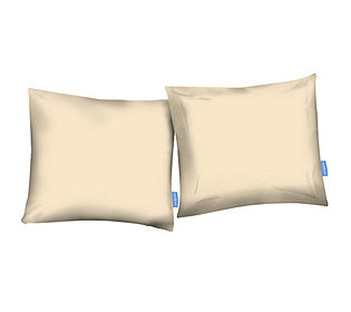 2 Kissenhüllen uni