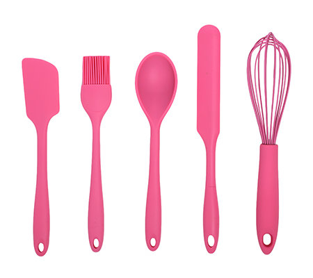 BAKING BOUTIQUE Silikon- Backhelfer-Set 5tlg.