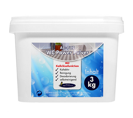 AQUA CLEAN PUR WC Power Pulver Kalklösefunktion kaltaktiv 3kg