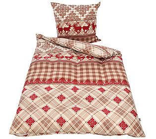 winterengel bettw sche set alpen chic 835943. Black Bedroom Furniture Sets. Home Design Ideas