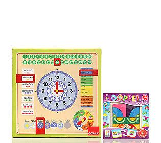 Kalenderuhr+Doppeldecker