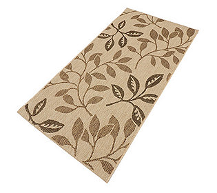 Teppich Blätter-Design