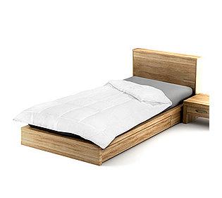 Bettdecke Karosteppung