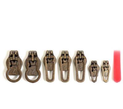 ZlideOn Reparatur-Set für alle gängigen Reißverschlüsse 7-tlg.