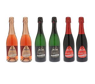 6 Flaschen Winzersekt