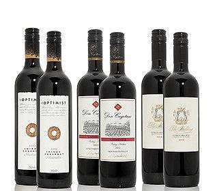 6 Rotweine neue Welt