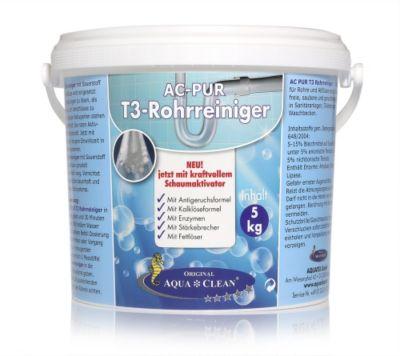 AQUA CLEAN PUR Reiniger für Rohre & Abflüsse neue Rezeptur 5kg