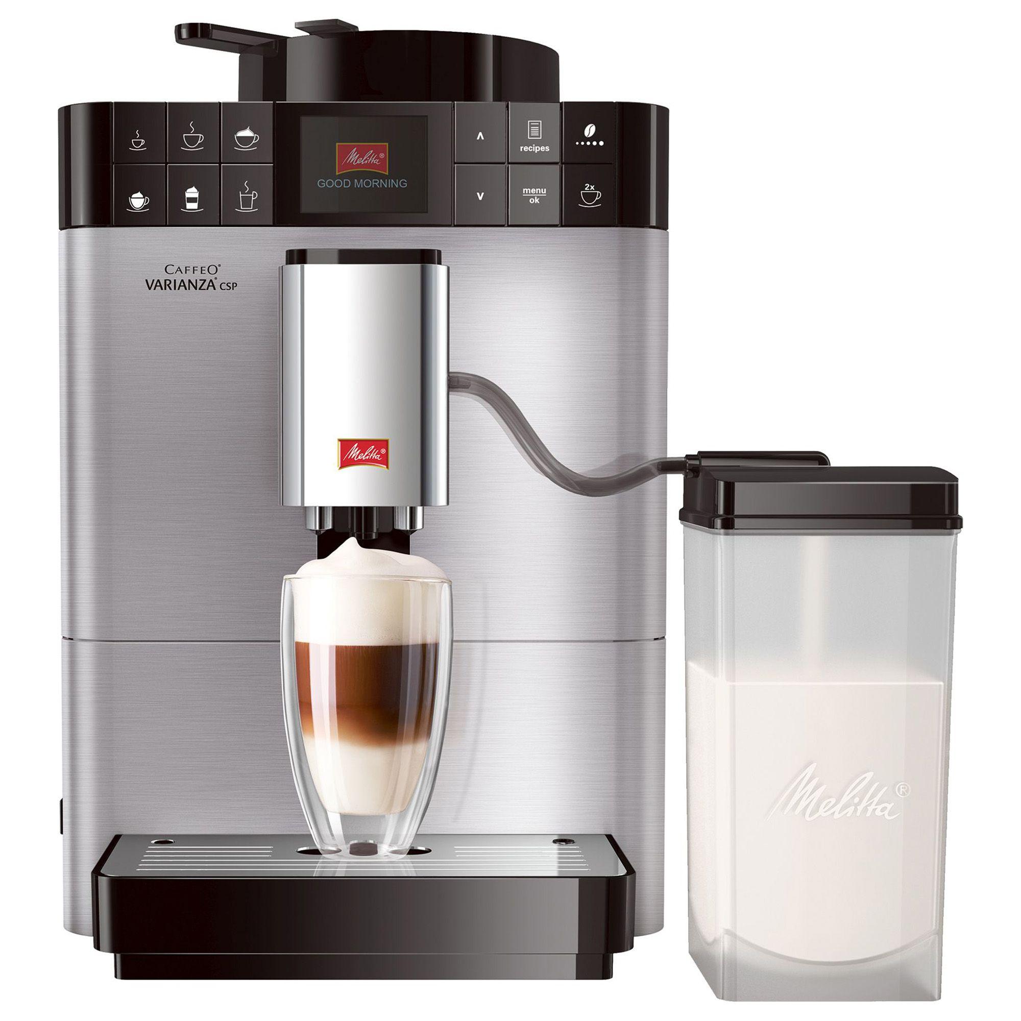 MELITTA Kaffeevollautomat Edelstahl inkl 3 Kaffeesorten & Pflege