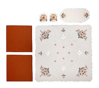 Tisch-Set Anemonen 6tlg.