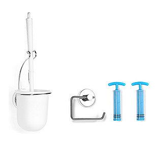 WC-Bürste & Rollenhalter